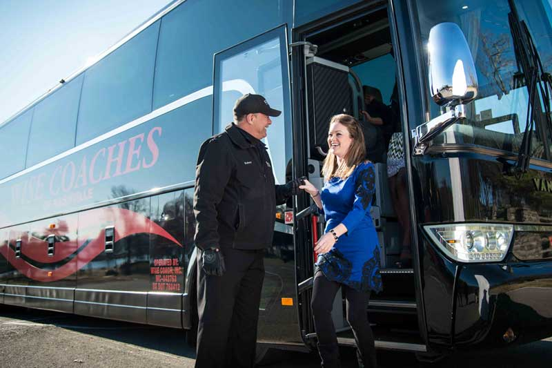 group charter on motorcoach