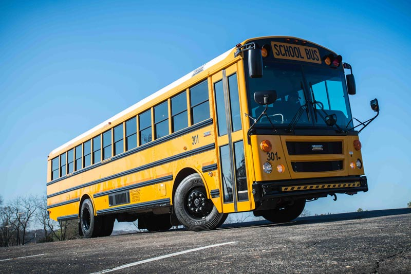 Bus for school and churches