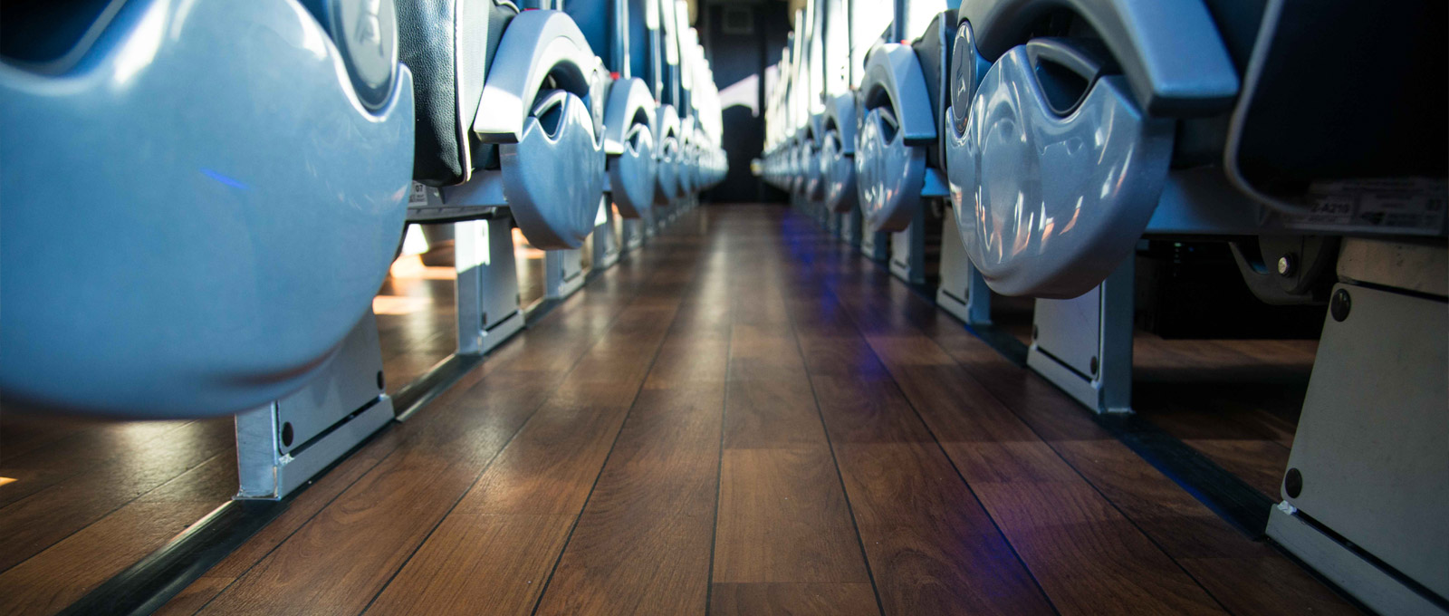 interior coach floor