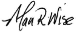 Alan Wise signature